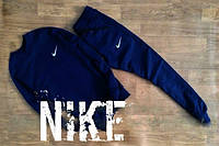 Спортивный костюм Nike, найк, в наличии, хлопок, маленькое лого, стильный, К197