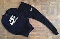 Спортивный костюм Nike,, найк, черный, релан, стильный, спортивный, с манжетом, К235