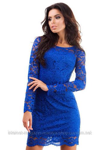 Платье женское трикотажная подкладка
