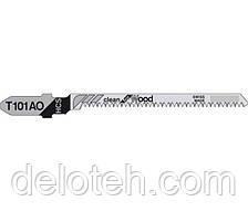 Пилочки Тандем Т101АО (ламинат, дерево,прямой мелкий зуб, чистый рез) 5шт
