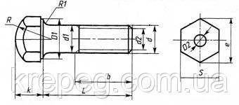 Картинки по запросу Болты башмачные ГОСТ 11674-75