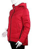 Куртка (парка) женская демисезонная MEAJIATEER M16-15 красная