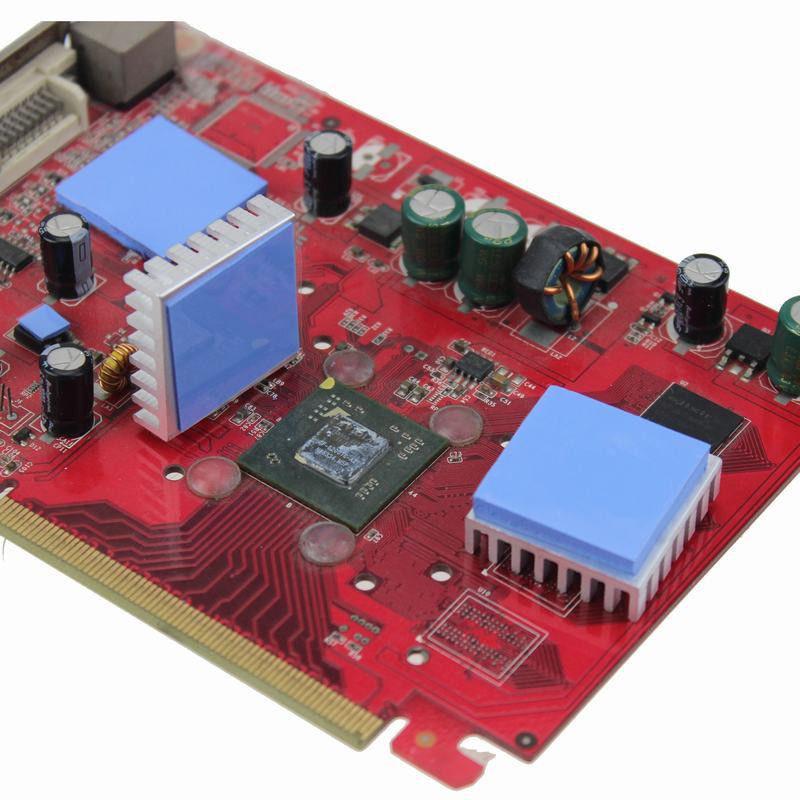 0шт Термопрокладка под радиатор 15х15х1мм силикон