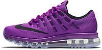 Женские кроссовки Nike Air Max 2016 (найк аир макс 2016) фиолетовые