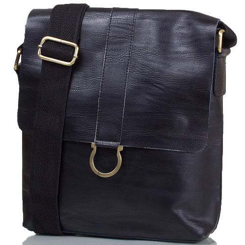 Оригинальная мужская сумка из натуральной кожи ETERNO (ЭТЭРНО) TU8955-1-black черный