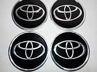 Наклейка на колпак диска Toyota 90 мм