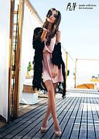 Женское платье ТМ B&H  в розовом цвете
