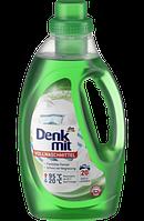 Бесфосфатный гель для стирки белого белья Denkmit Vollwashmittel 20 стирок