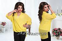 Комплект (Майка+Блуза) №149,размеры  50,52,54,56,58