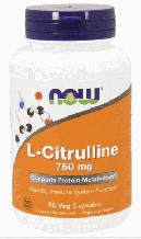 L-цитруллин, Now Foods, L-Citrulline, 750mg, 90 caps