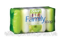 """Крем - мыло Зелёное яблоко """" Dalan Family """", 5 шт * 75 г"""