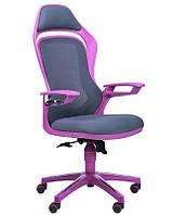 Кресло Spider GTX сетка серая/каркас фиолетовый