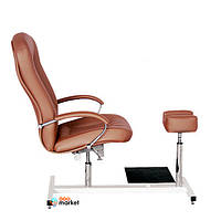 Косметологическая мебель AYALA Кресло для педикюра Ayala Portos Zestaw de Lux кофейное