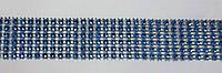 """Лента для декора """"Голубые камни"""" h-3 см"""