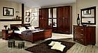 Кровать из массива дерева 054, фото 2