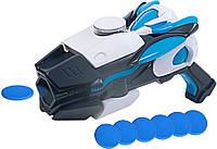 Лазерный бластер Max Steel (свет, звук) стреляет дисками