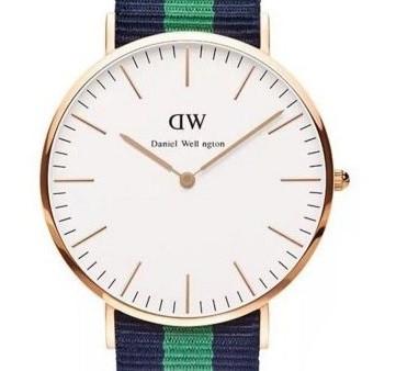 Часы с тканевым ремешком (Warwick gold) - гарантия 6 месяцев