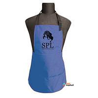 Одежда для парикмахера SPL Фартук односторонний SPL 905070D Mini синий