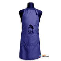 Одежда для парикмахера SPL Фартук односторонний SPL 905071C Medium синий