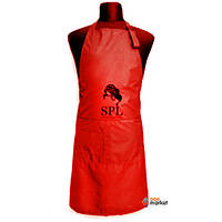 Одежда для парикмахера SPL Фартук односторонний SPL 905071E Medium красный