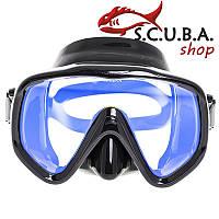 Маска для подводного плавания Marlin Visualator + просветленное стекло