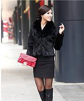 Женский полушубок . Меховая куртка. Модель 029