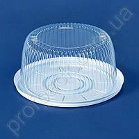 Упаковка ПС-22 для торта из полистирола, d=180 мм, 200 шт/уп