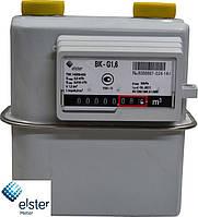 """Счетчик газа ELSTER BK G1.6T мембранный бытовой «ElsterGroup» (Германия) Dn20 G¾"""" с температурным корректором"""