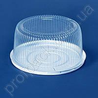 Упаковка ПС-230 для торта из полистирола, d=235мм, 200 шт/уп