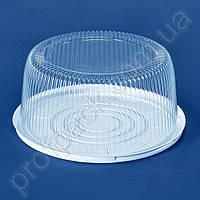 Упаковка ПС-240  для торта из полистирола, d=260 мм, 200 шт/уп