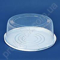 Упаковка ПС-260 для торта из полистирола, d=335 мм, 75 шт/уп