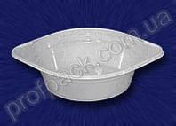 Тарелка глубокая, одноразовая ,  белая, 500 мл, 100 шт/уп