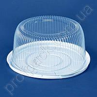 Упаковка ПС-25 для торта из полистирола, d=280 мм, 200 шт/уп