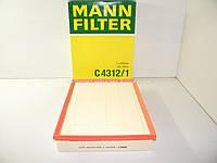 Воздушный фильтр на Фольксваген Крафтер 2006-> MANN-FILTER (Германия) C4312/1