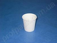 Стакан бумажный Белый, 110 мл, 50 шт/уп