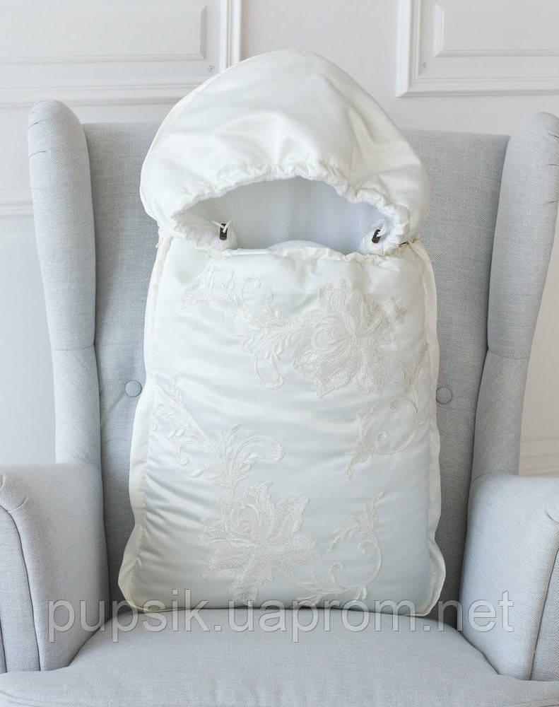 Конверт-одеяло на флисе с капюшоном Flаvien 1020