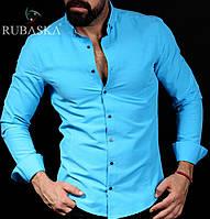 Рубашка мужская с длинным рукавом.  RSK-3059, фото 1