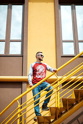 Лонгслив Urban Planet Dragon, стильные, модный, фото 2