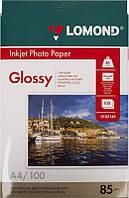 Фотобумага Lomond глянцевая ( формат А4 , плотность 85 г/м2 односторонняя глянцевая ) 100 листов