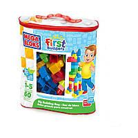 Конструктор Mega Bloks  серия First  builders  для мальчиков  60д.