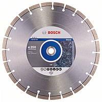 Алмазный отрезной круг Bosch Expert for Stone350x20/25,4