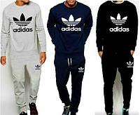 Спортивный костюм Adidas, с большим лого, в ассортименте, 3 цвета