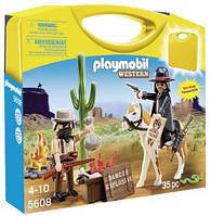 Конструктор Playmobil Возьми с собой: 5608 Ковбои , фото 1