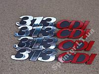 "Надпись на решетку  ""313CDI""  на Sprinter 2000г-"