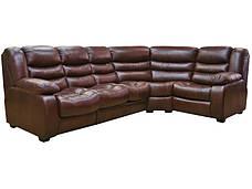 """Новый угловой диван """"Ashley"""" (Эшли) в коже, фото 2"""