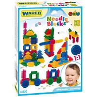 Конструктор Ежик 64 элемента, Wader (41820)