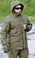 """Куртка-китель """"Тренд М-65"""", олива 100% х/б"""