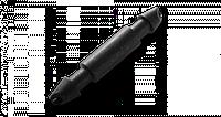 Соединитель для трубки 4мм (20 шт/упак)