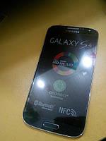 Дисплей с сенсорным экраном для телефона SAMSUNG I9500  S4  синий ОРИГИНАЛ