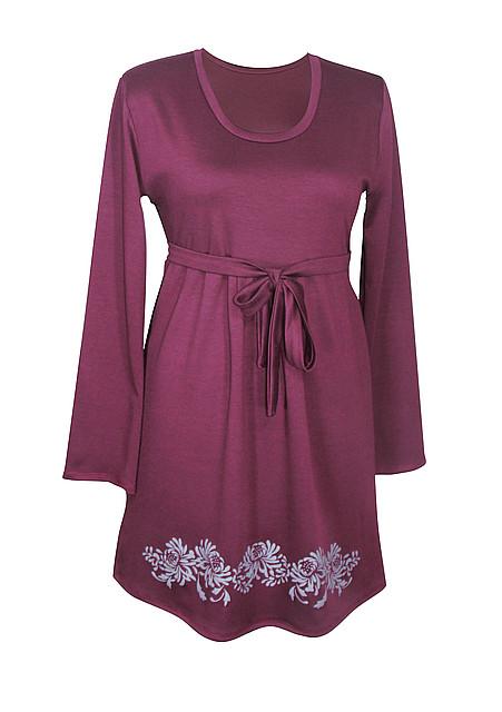 Платье классика Хризантемы / разм. до 64+ / отрезное с вырезом / женское / больших размеров /